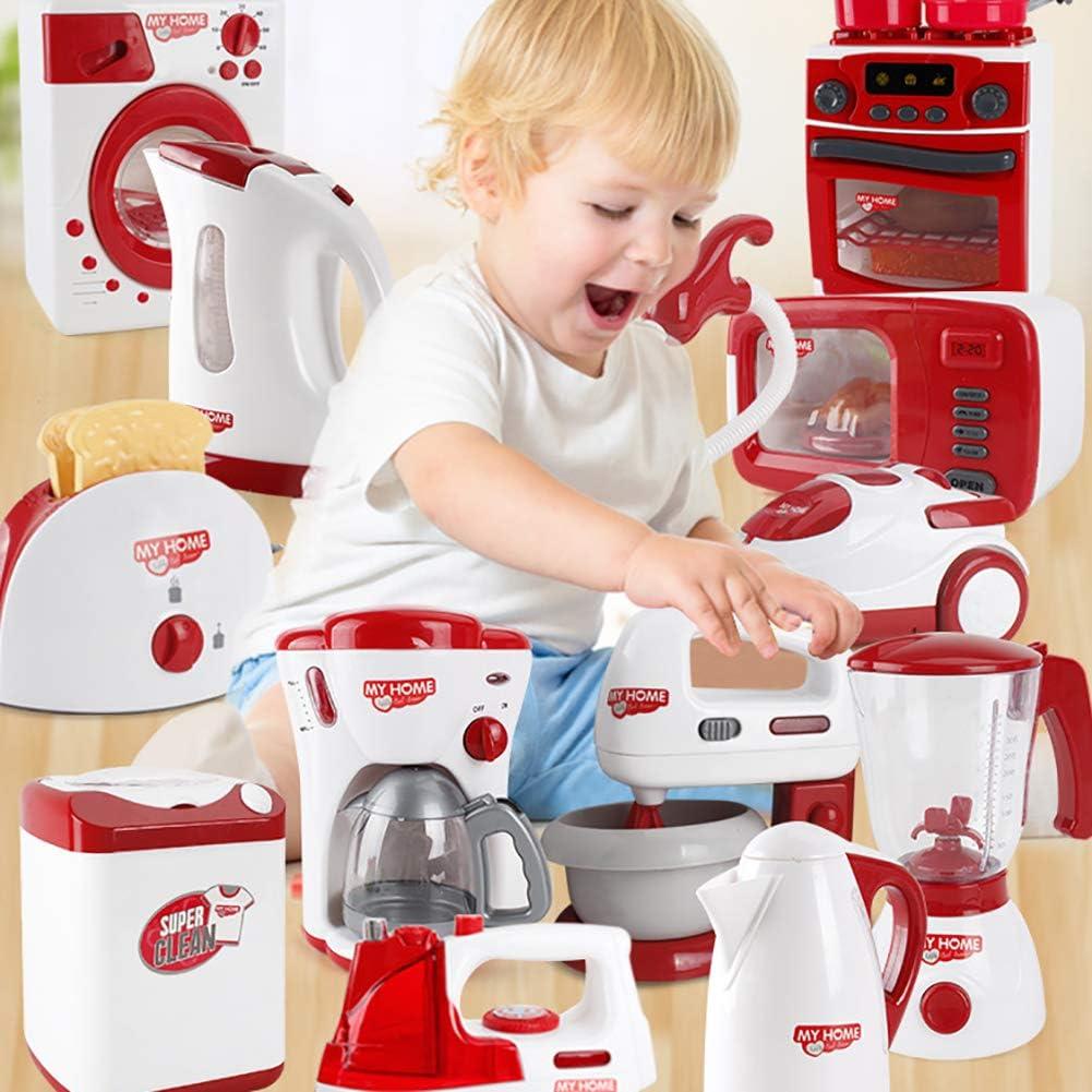 KingbeefLIU Cafetera Educativa para Niños Máquina De Pan Mini ...