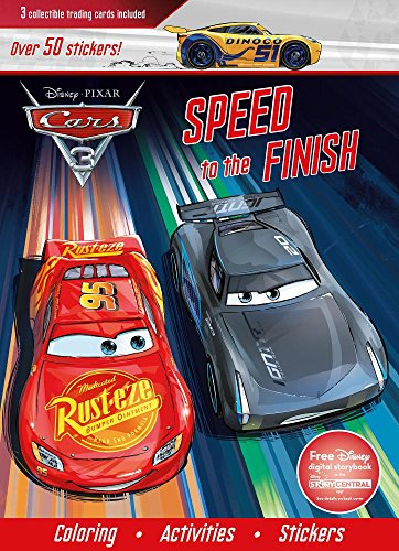 Disney/Pixar CARS 3 - Details & Downloadable Activity Sheets #Cars3 - Disney Pixar Cars 3: Speed to the Finish