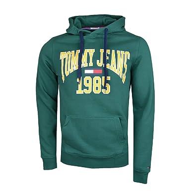 Tommy Hilfiger Sweat Capuche Hommes DM0DM05289 XS Vert