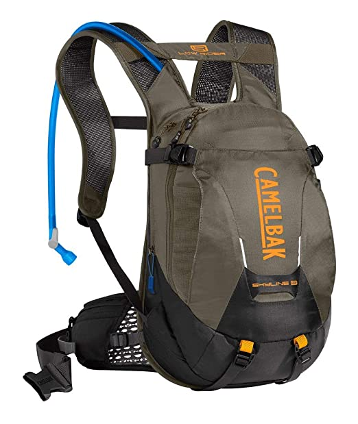 CamelBak Skyline 10 LR - Mochila de hidratación, Hombre, Racing Red/Pitch Blue: Amazon.es: Deportes y aire libre