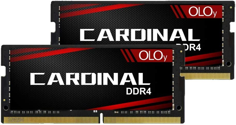 OLOy DDR4 RAM 32GB (2x16GB) 2400 MHz CL17 1.2V 260-Pin Laptop Gaming SODIMM for Intel (MD4S162417IZDC)
