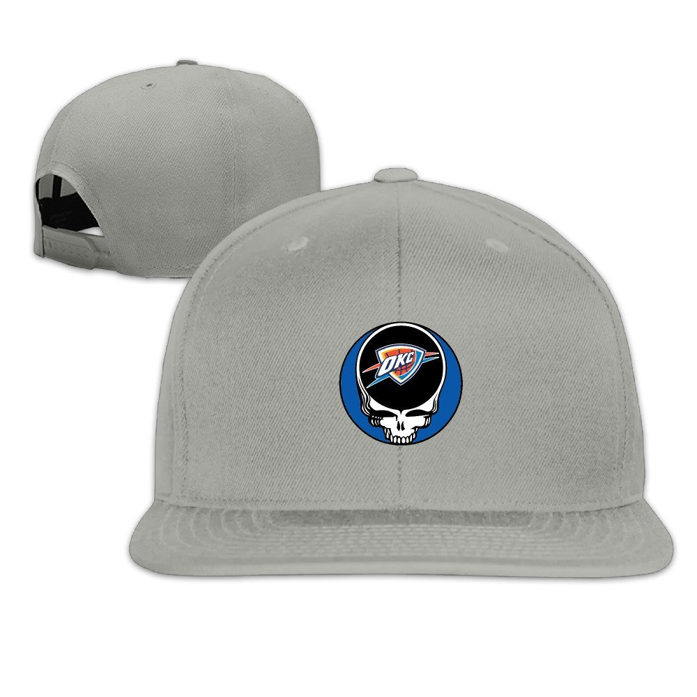 The Grateful Dead Oklahoma City Thunder Custom Visor Hats Adjustable Caps  Apparel 815c6ded1ff