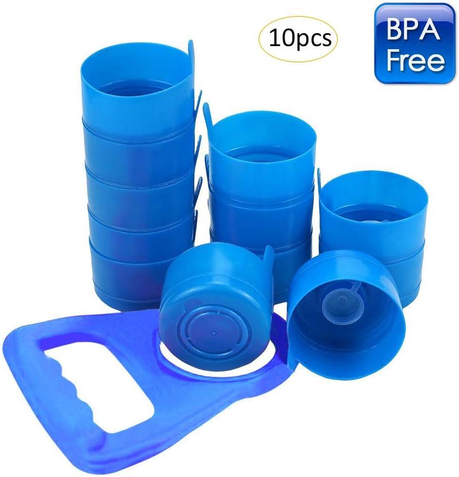 HUVE Anti-salpicaduras, tapas de botella reutilizable para 55 mm 3 ...