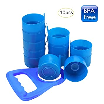 Sue Supply - Tapones para botellas de agua de 55 mm, 10 unidades ...