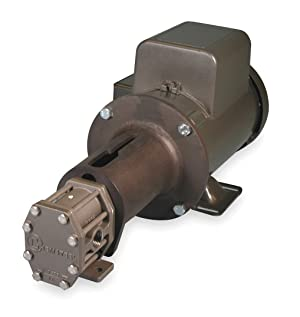 Oberdorfer Pumps - S20716CAC1-M47 - Rotary Gear Pump, 110 psi, 316 Stainless Steel, 3/4 HP, 1 Phase