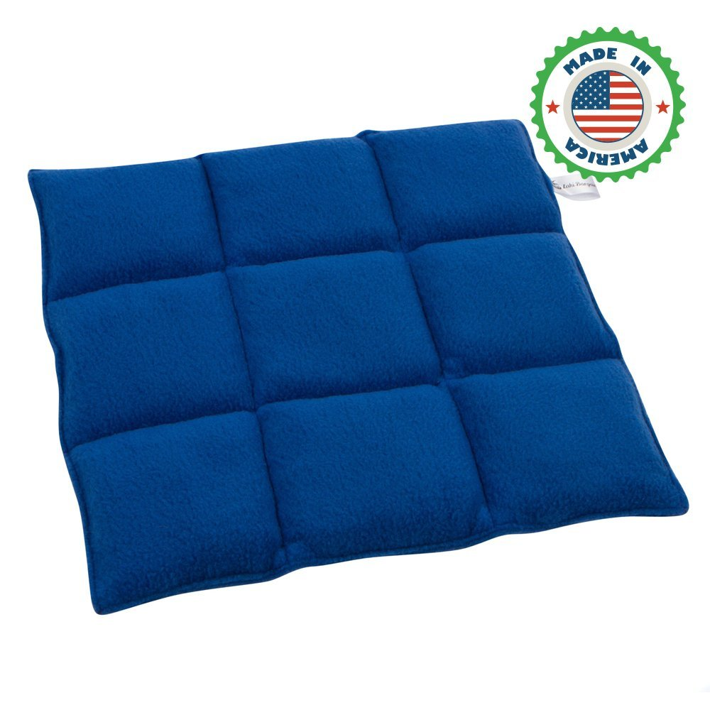 Weighted Lap Pad for Kids   Unique Warming & Cooling Feature   Help with Self-Calm and Relaxation   Multiple Weight & Sizes   Great for Autism, ADHD, Sensory Processing Disorder