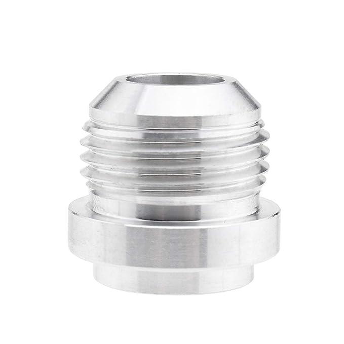 Create Idea 2 x AN10 Adaptador de Ajuste de Combustible para Manguera Redonda Macho Kit de Tanque de Combustible