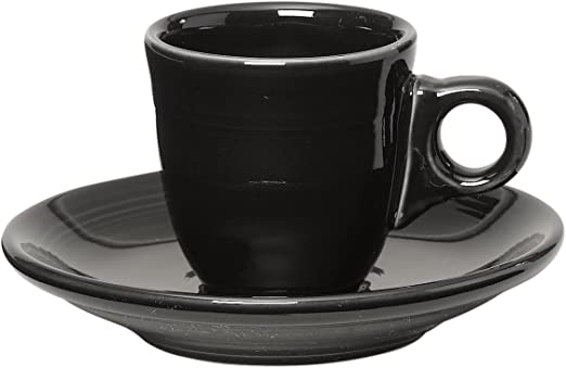 Scarlet 2 pcs 1 Fiesta Fiestaware Teacup Tea Cup /& Saucer Set