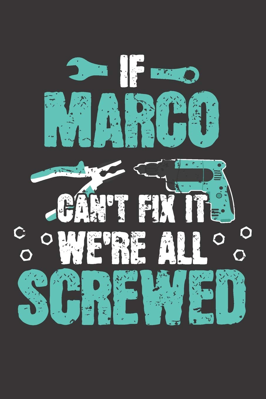 If MARCO Can't Fix It: Blank Personalized & Customized Name