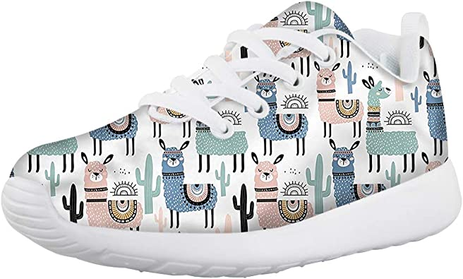 Coloranimal Womens Trainers Air Mesh Lightweight Sneakers Athletic Tennis Shoes