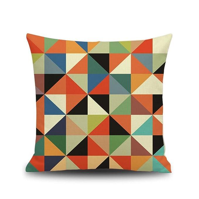 Amazon.com: Soft Soild Decorative Square Throw Pillow Covers ...