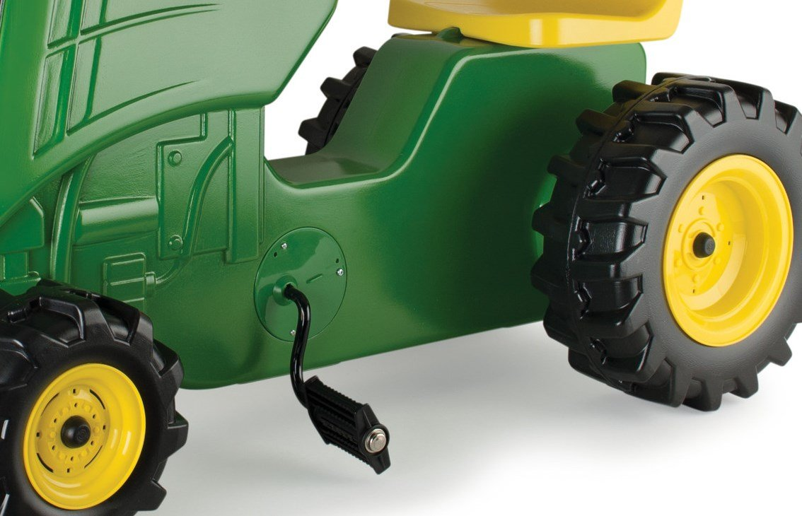 John Deere Plastic Pedal Tractor Green by TOMY (Image #2)