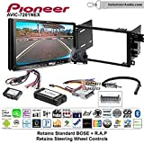 Pioneer AVIC-7201NEX Double Din Radio Install Kit with GPS Navigation Apple CarPlay Android Auto Fits 2003-2005 Chevrolet Blazer, 2003-2006 Silverado, Suburban (Bose and SWC)