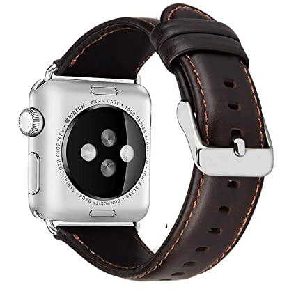 Edition Leder Nike 42mm Band Uhrenarmband Watch Lederarmband 1 Ersatzarmband Iwatch Echtleder Serie Für Ersatz 44mm 2 3 Sport 4 Mrotech 34AcR5jLSq
