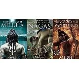 Set of 3 books- meluha, nagas, the oath of vayuputras (Shiva trilogy)
