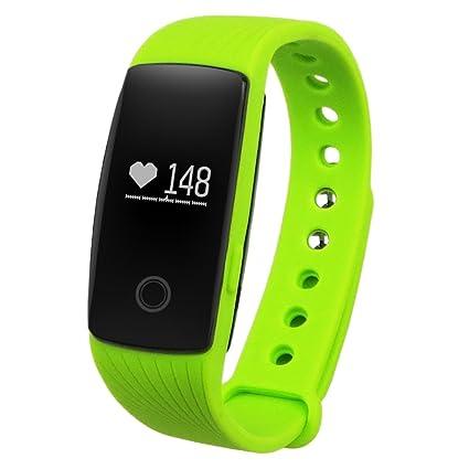Amazon.com: Diggro ID107HR Heart Rate Smart Bracelet Call ...