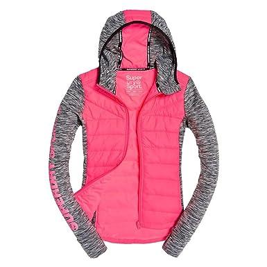 a65453f8e4125 Superdry Gilet Femme Active Hybrid  Amazon.fr  Vêtements et accessoires