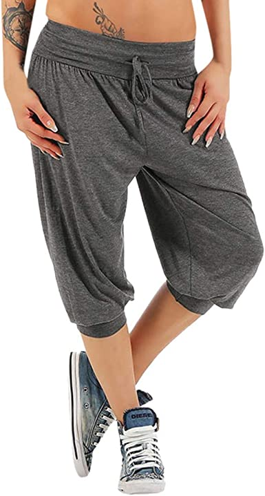 Surfiiy - Pantalones de chándal para Mujer, Cortos, Cortos, con ...