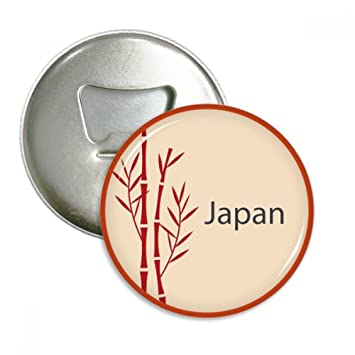 Amazonde Japanische Kultur Rotes Bambus Muster Runder