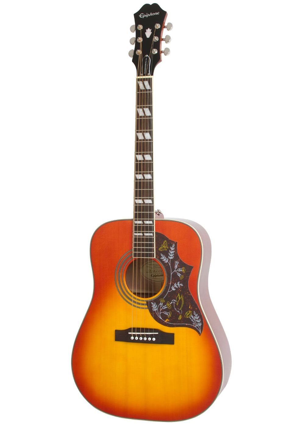 Epiphone Hummingbird Pro Faded Cherry Burst
