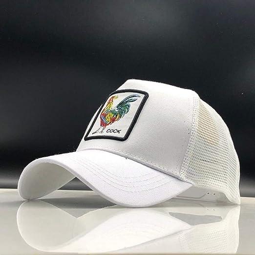 kyprx Gorra de béisbol Hip Hop Hat Snapback Animal Bordado Gorras ...