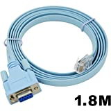Cisco Systems Cisco Router  Cisco console cable RJ-45 DB-9 シリアルケーブル 72-3383-01 (RJ45-DB9)