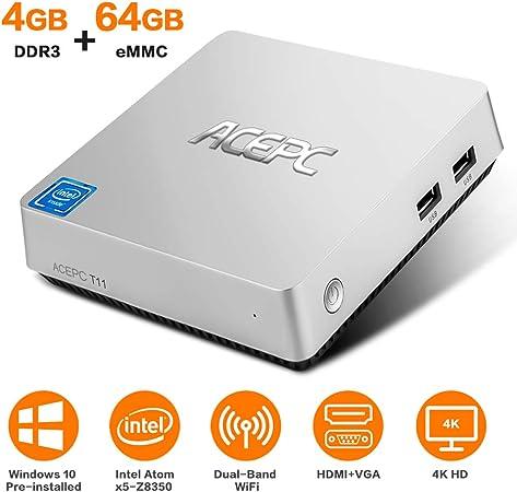 ACEPC T11 USB QWERTY Inglés Negro Teclado: Amazon.es: Informática