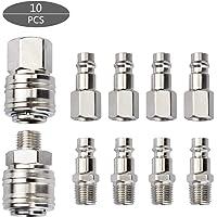 10 piezas Air Line Euro Hose Fitting Astarye