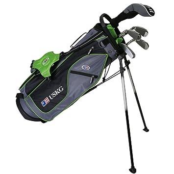 US kids Golf UL 57 Set Bolsa de Palos, Unisex niños, Verde ...