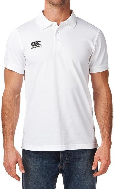 Canterbury Waimak - Polo para Hombre, tamaño L, Color Blanco ...