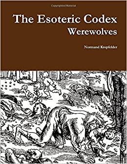 Book The Esoteric Codex: Werewolves