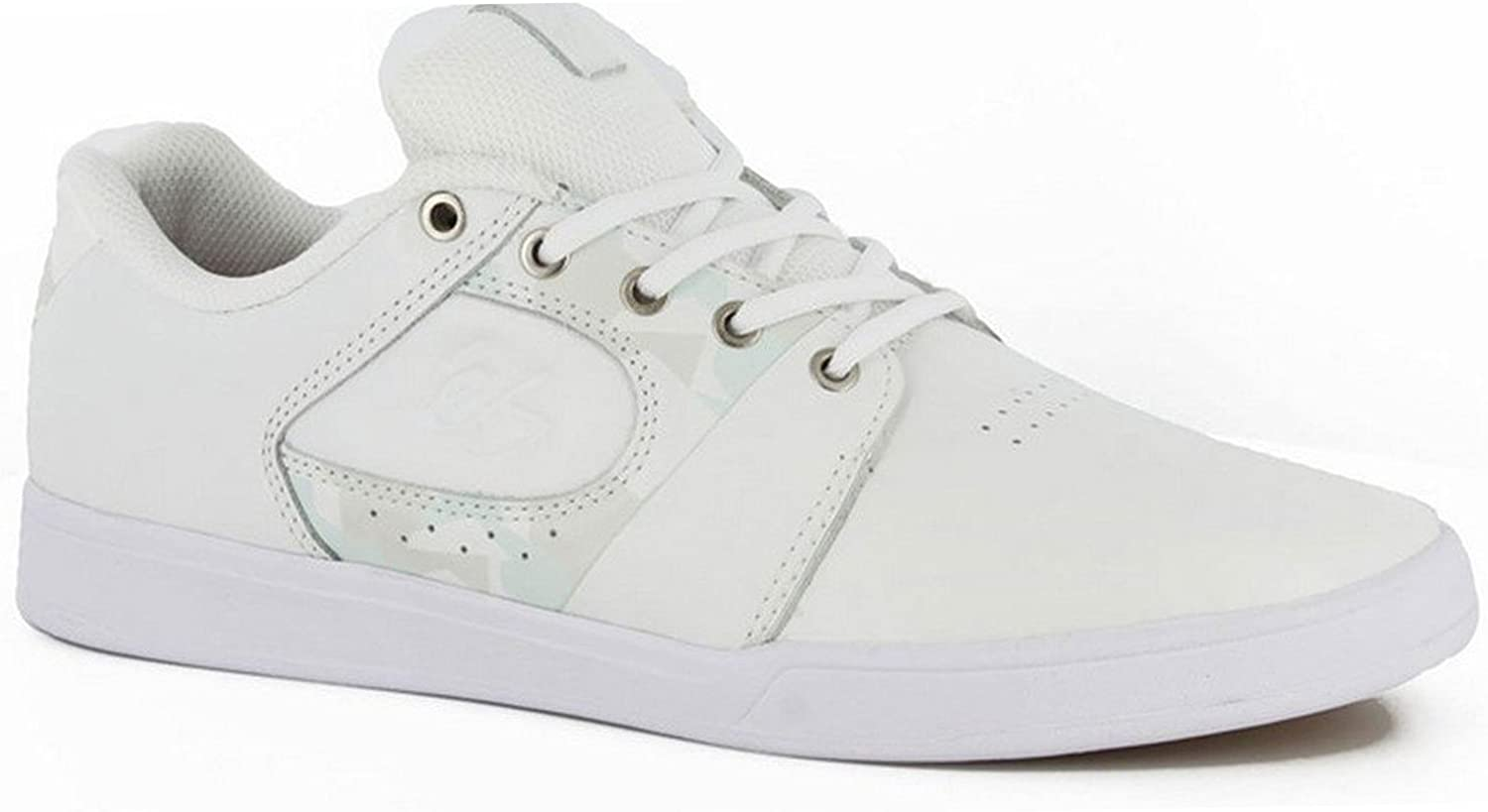 eS Skateboard Shoes The Accelerate White Gum