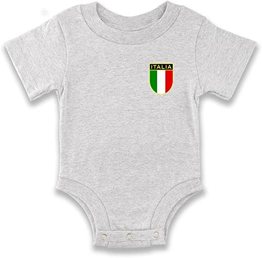 World Cup Italy Green Newborn Infant One Piece Onesie