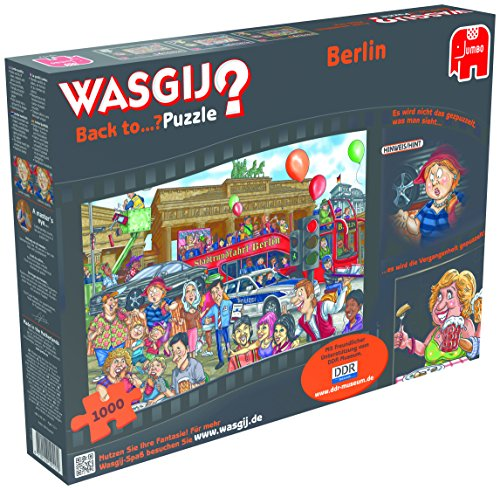 Wasgij Back to...Berlin 1000 Piece Jigsaw Puzzle