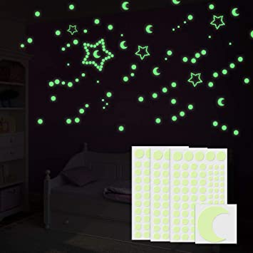 DFDHNGYLU Leuchtsterne, Furado 252 Fluoreszierende Sternenhimmel ...