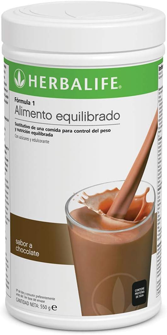 Batido Fórmula 1 550g - (Plátano) | Herbalife: Amazon.es: Salud y ...