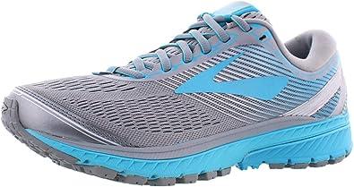 Brooks Ghost 10 Zapatillas de correr para mujer, (Primer Gris/Verde azulado/Plata), 40 EU: Amazon.es: Zapatos y complementos