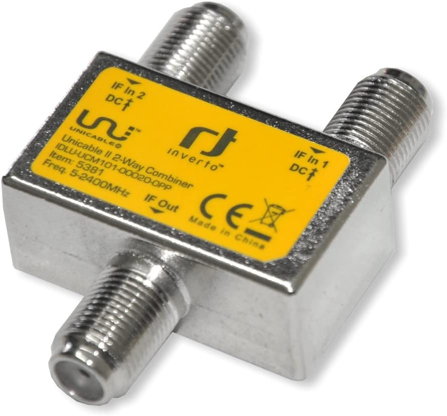 Inverto Unicable2 2-Fach Combiner 950-2400MHz