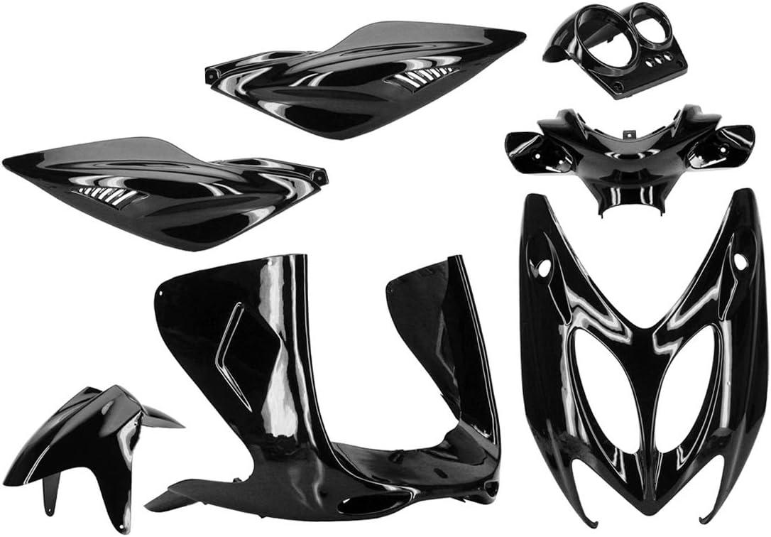 Verkleidungskit Tnt Für Mbk Yamaha Nitro Aerox Schwarz Metallic 7 Teilig Auto
