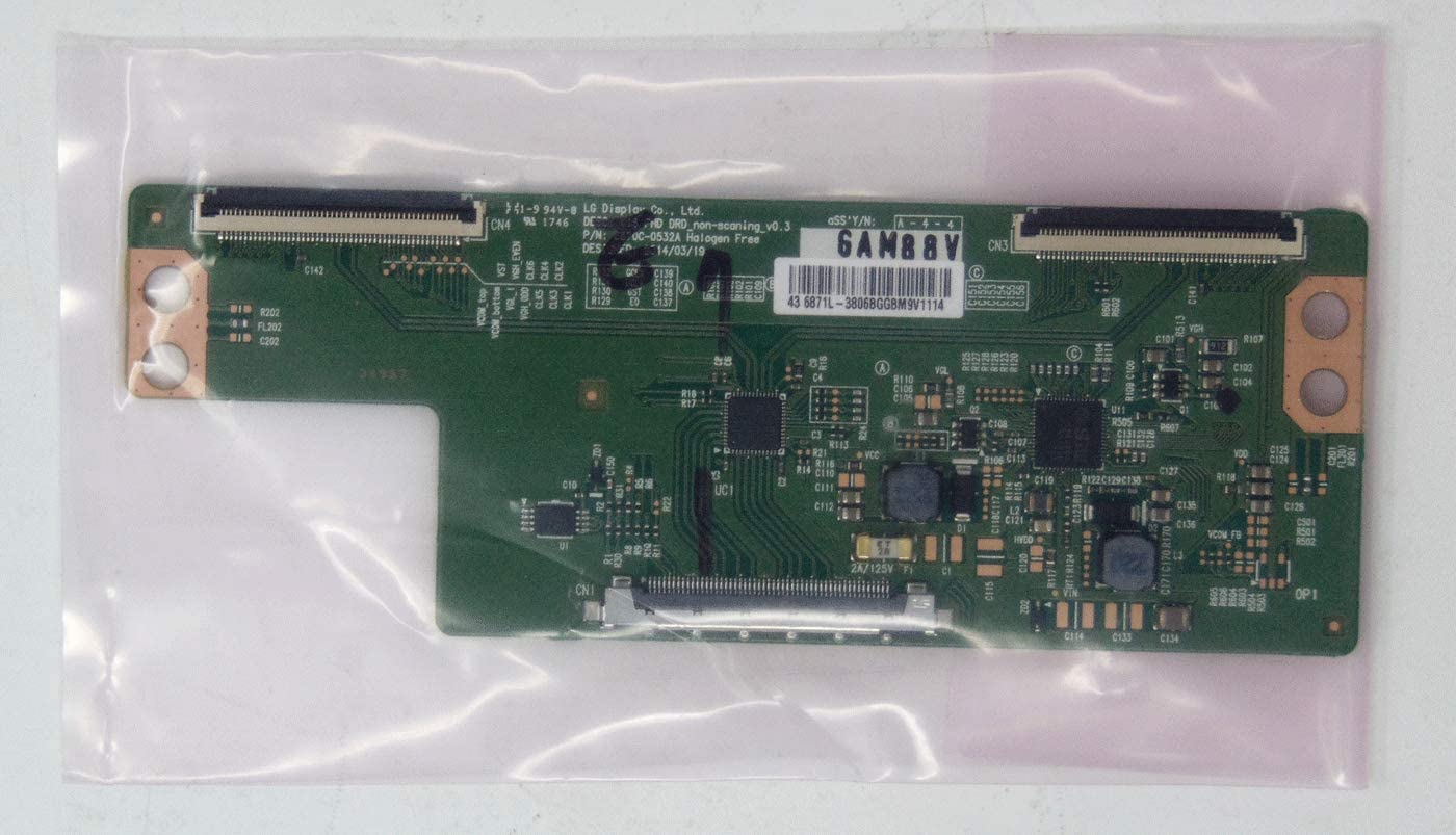 Vizio 6871L-3806B T-Con for E43-C2 D43-C2 D43-D1 D43n-E1 D43n-E1 43MV314X//F7