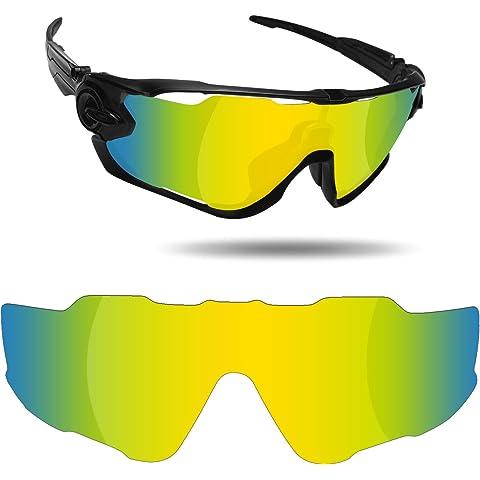 98ba83ec222 Fiskr Anti-Saltwater Replacement Lenses for Oakley Jawbreaker Sunglasses -  Various Colors