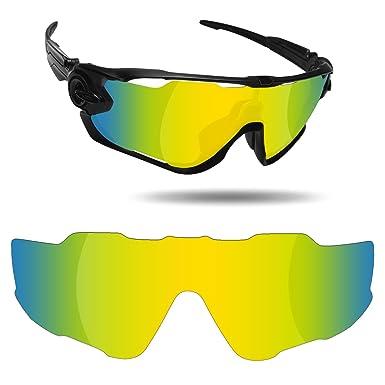 ceb588376c Fiskr Anti-Saltwater Replacement Lenses for Oakley Jawbreaker Sunglasses -  Various Colors