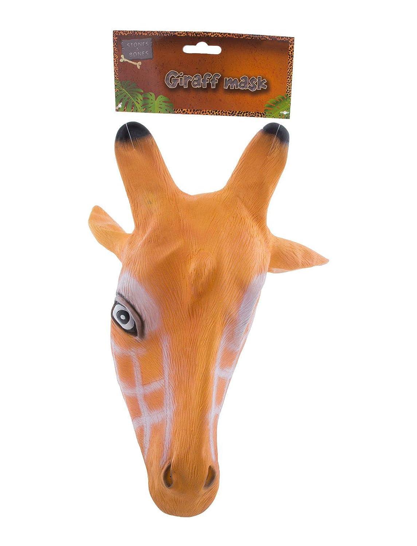 TrendClub100/® Latex Tier Maske Giraffe