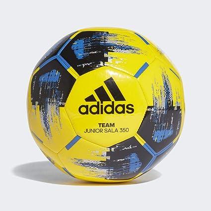 adidas Team JS350 Balón de Fútbol, Mens, Yellow/Black/Blue/Silver ...