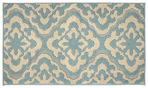 Jean Pierre Elizabeth 20 x 34 in. Loop Accent Rug, Mineral Blue/Berber