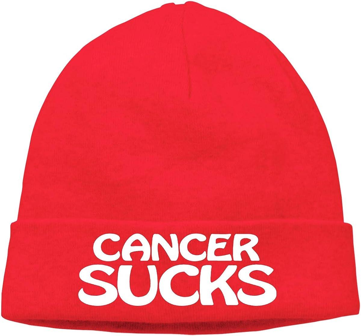 Cancer Sucks CgyOIUY-lop Beanie Hat Warm Hats Skull Cap Knitted Hat