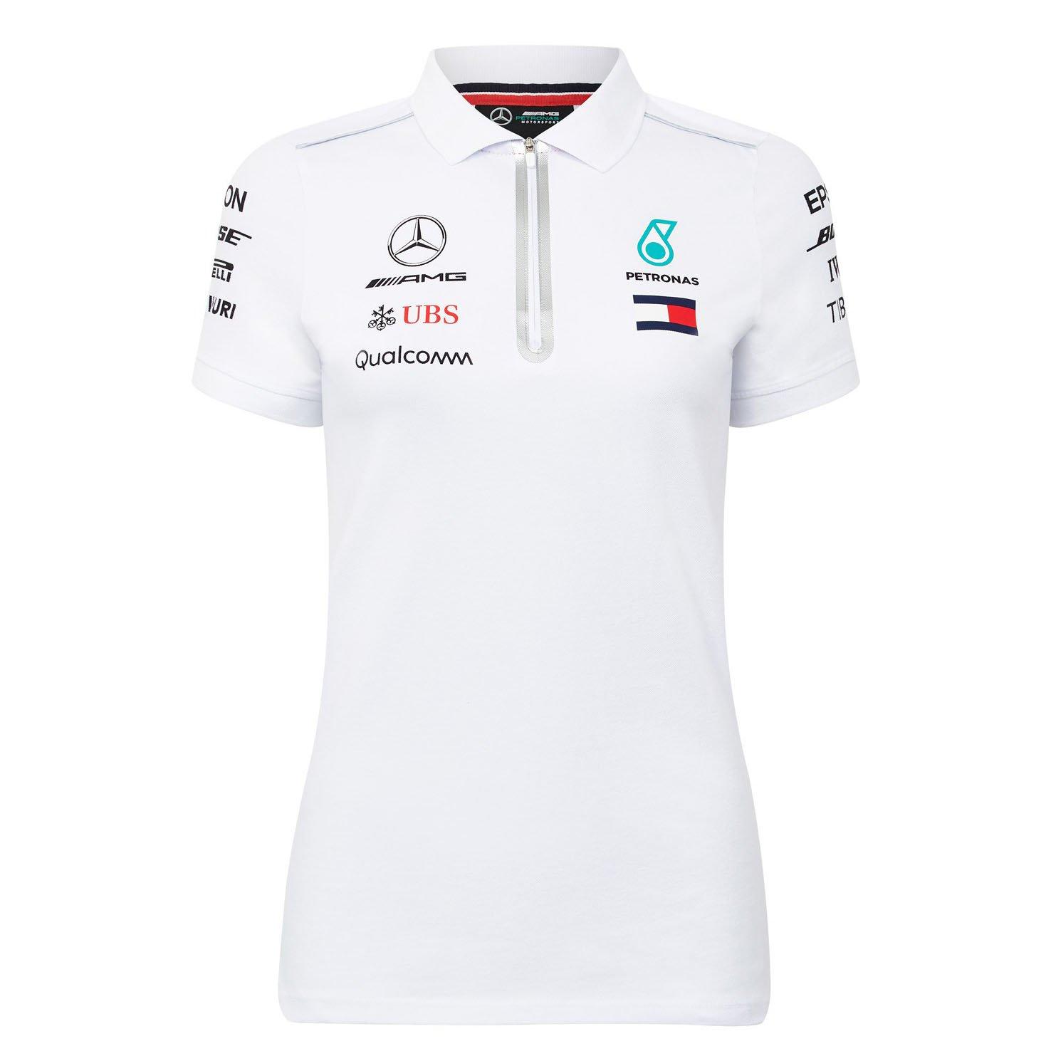64e24afc8 Inconnu 2018 Mercedes-amg F1 Lewis Hamilton femmes Polo pour femme par Tommy  Hilfiger