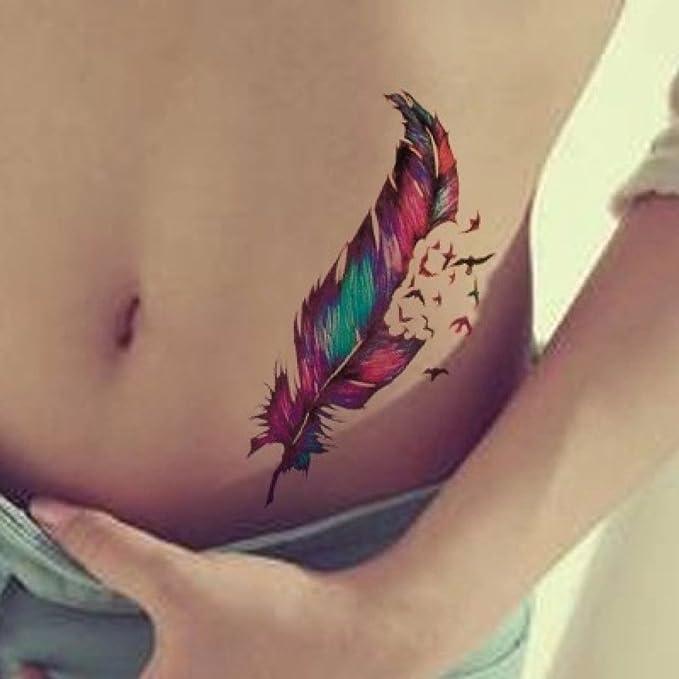 Jspoir Melodiz 1pc impermeable pequeñas pegatinas tatuajes ...
