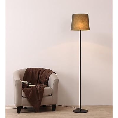 Étude Floor Lampadaires Dl LampadaireCreative Noir Salon Jardin 3A54LRj