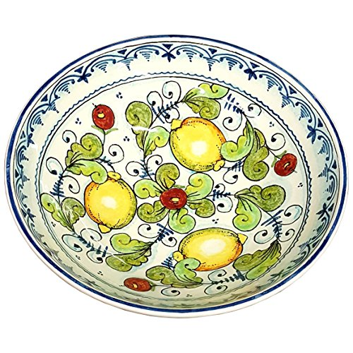 CERAMICHE Du0027ARTE PARRINI - Italian Ceramic Serving Bowl Centerpieces Art Pottery Dishware Hand Painted  sc 1 st  Cortigianos & CERAMICHE Du0027ARTE PARRINI - Italian Ceramic Serving Bowl Centerpieces ...